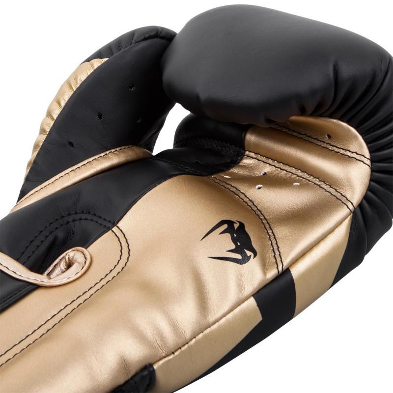 Боксерські рукавиці Venum Elite Чорні/Золото (01846) фото 4