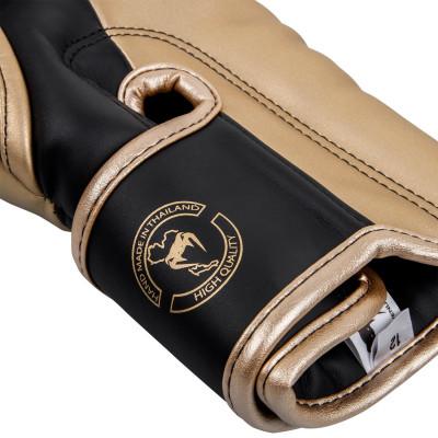 Боксерські рукавиці Venum Elite Чорні/Золото (01846) фото 5