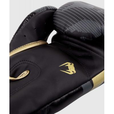 Боксерські рукавиці Venum Elite Темний камуфляж/Золото (02000) фото 5