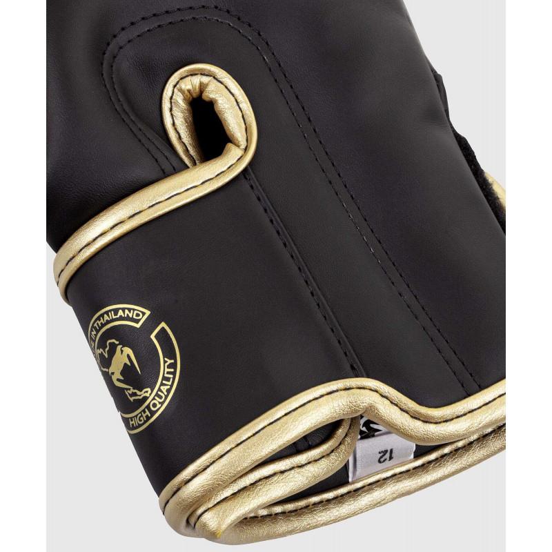 Перчатки Venum Elite Boxing Gloves Dark camo/Gold (02000) фото 6