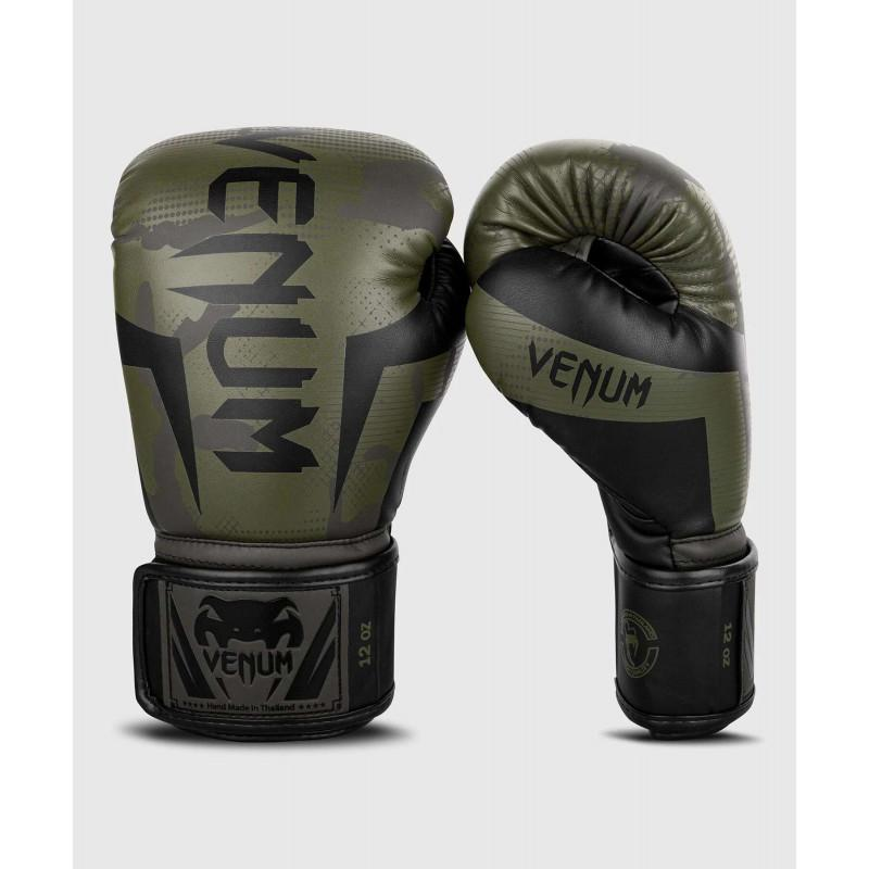 Перчатки Venum Elite Boxing Gloves Khaki camo (02085) фото 1