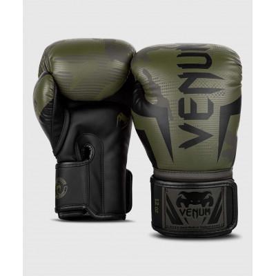 Перчатки Venum Elite Boxing Gloves Khaki camo (02085) фото 2