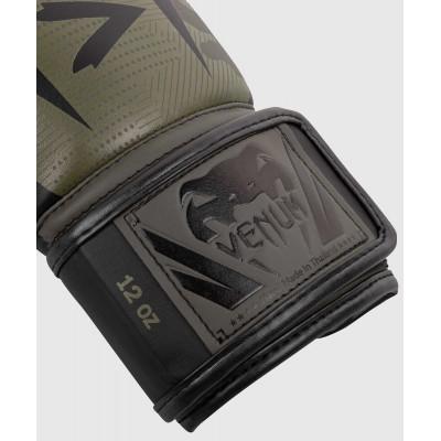 Перчатки Venum Elite Boxing Gloves Khaki camo (02085) фото 3