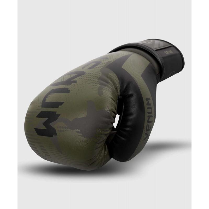 Перчатки Venum Elite Boxing Gloves Khaki camo (02085) фото 4