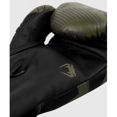 Перчатки Venum Elite Boxing Gloves Khaki camo (02085) фото 5