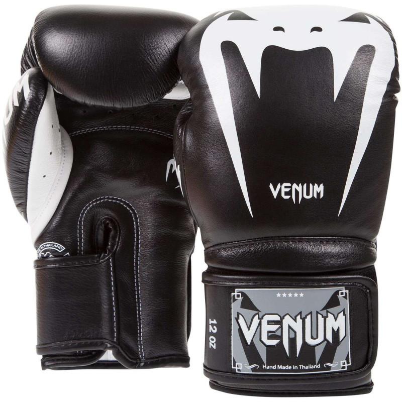 Боксерские перчатки Venum Giant 3.0 Nappa Чёрные (01845) фото 2