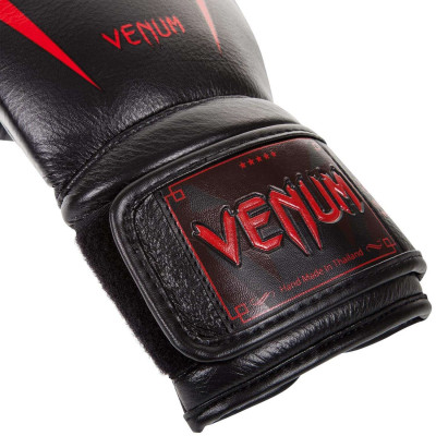 Боксерские Перчатки Venum Giant 3.0 Nappa Black/Devil (01879) фото 3