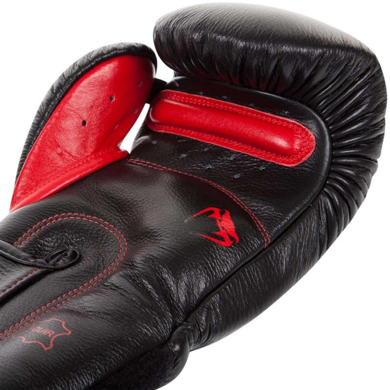 Боксерские Перчатки Venum Giant 3.0 Nappa Black/Devil (01879) фото 4