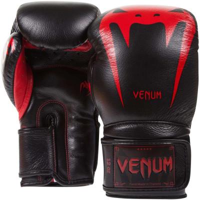 Боксерские Перчатки Venum Giant 3.0 Nappa Black/Devil (01879) фото 2