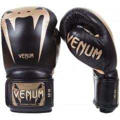Боксерские Перчатки Venum Giant 3.0 Nappa Чёрные/Золото