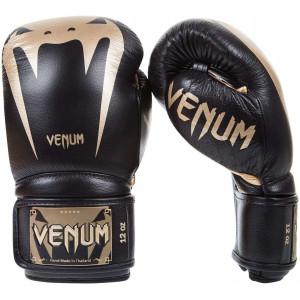 Боксерські Рукавички Venum Giant 3.0 Nappa Чорні/Золото