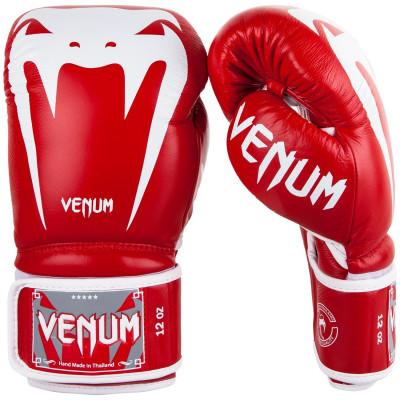 Боксерские перчатки Venum Giant 3.0 Nappa Красные (01848) фото 1