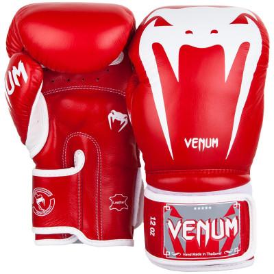 Боксерські рукавиці Venum Giant 3.0 Nappa Червоні (01848) фото 2