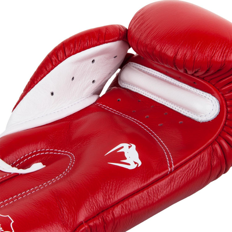 Боксерские перчатки Venum Giant 3.0 Nappa Красные (01848) фото 4