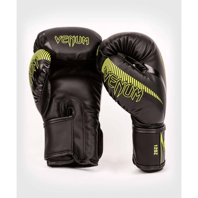 Перчатки Venum Impact Boxing Gloves Black/Neo (02067) фото 2