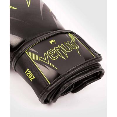 Перчатки Venum Impact Boxing Gloves Black/Neo (02067) фото 3