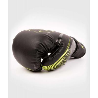 Перчатки Venum Impact Boxing Gloves Black/Neo (02067) фото 4