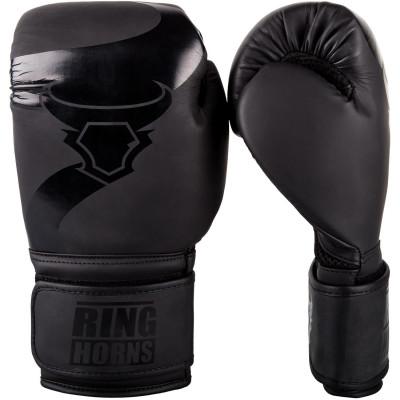 Перчатки Ringhorns Charger Boxing Gloves Black/B (01675)