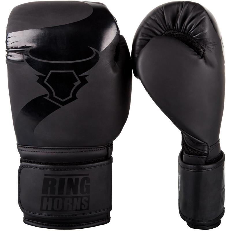 Перчатки Ringhorns Charger Boxing Gloves Black/B (01675) фото 1