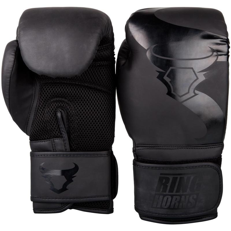 Перчатки Ringhorns Charger Boxing Gloves Black/B (01675) фото 2