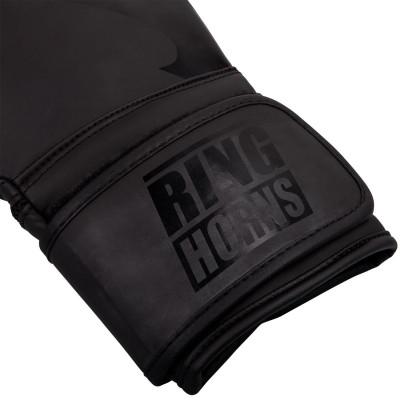 Перчатки Ringhorns Charger Boxing Gloves Black/B (01675) фото 4