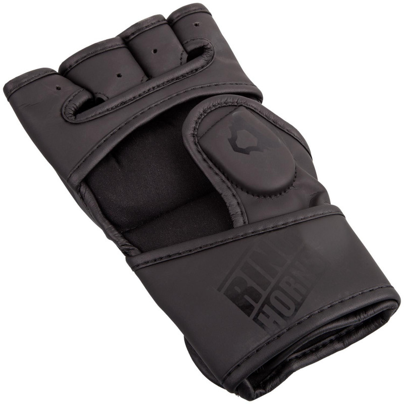 Перчатки Ringhorns Charger MMA Gloves Black/Black (01681) фото 2