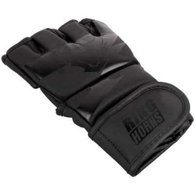 Перчатки Ringhorns Charger MMA Gloves Black/Black (01681) фото 3