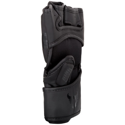 Перчатки Ringhorns Nitro MMA Gloves Black/Black (01693) фото 2