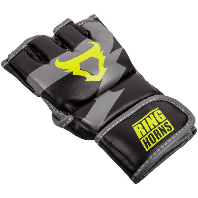 Перчатки Ringhorns Charger MMA Gloves Black/Neo/Yelow (01682) фото 3
