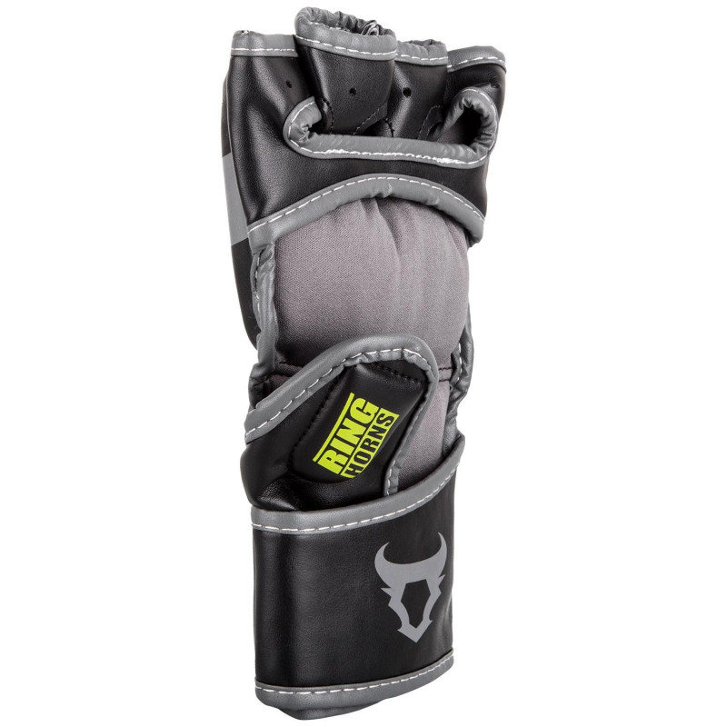 Перчатки Ringhorns Charger MMA Gloves Black/Neo/Yelow (01682) фото 2