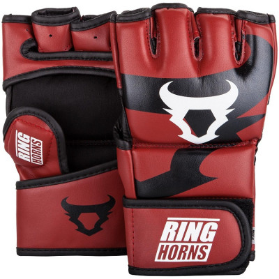 Перчатки Ringhorns Charger MMA Gloves Red (01683)