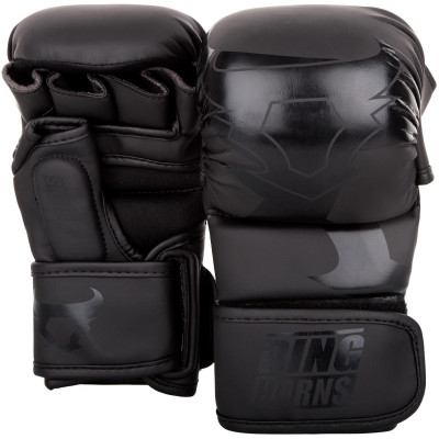 Перчатки Ringhorns Charger Sparring Gloves Black/Black (01685) фото 1
