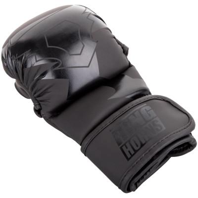Перчатки Ringhorns Charger Sparring Gloves Black/Black (01685) фото 4