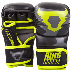 Перчатки Ringhorns Charger Sparring Gloves B/N/Y