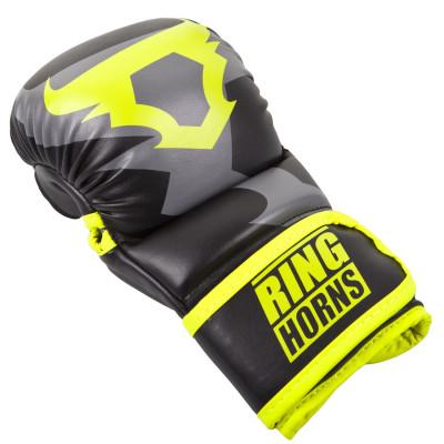 Рукавиці Ringhorns Charger Sparring Gloves Black/Neo/Yelow (01686) фото 5