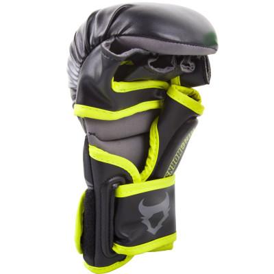 Рукавиці Ringhorns Charger Sparring Gloves Black/Neo/Yelow (01686) фото 2