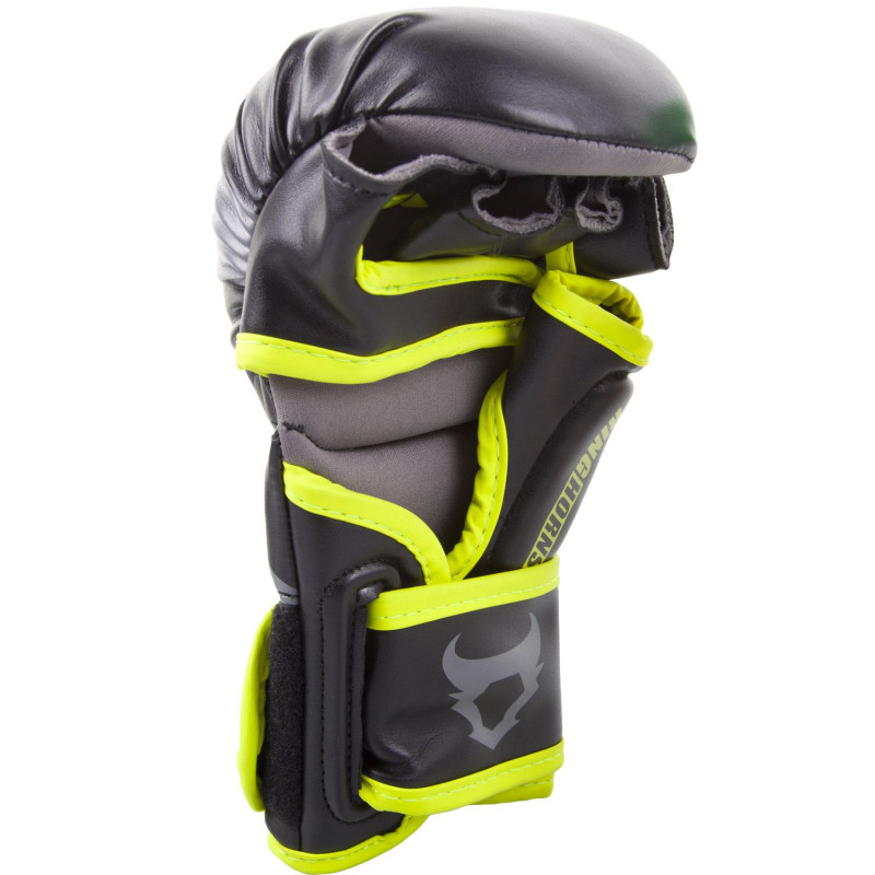 Перчатки Ringhorns Charger Sparring Gloves Black/Neo/Yelow (01686) фото 2