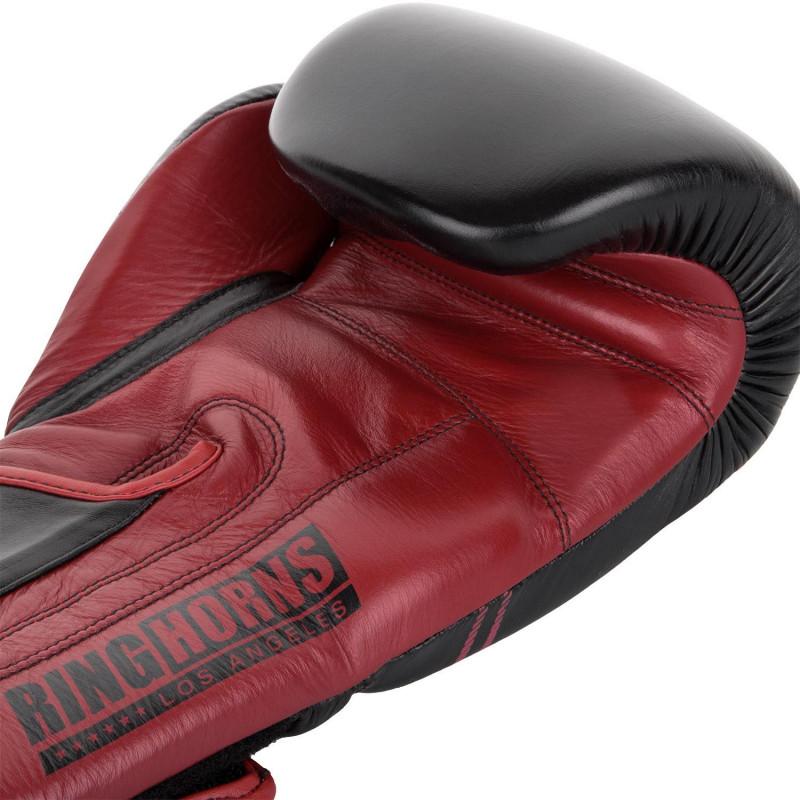 Перчатки Ringhorns Destroyer Boxing Gloves Black/Red (01688) фото 4