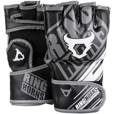 Перчатки Ringhorns Nitro MMA Gloves Black (01692)