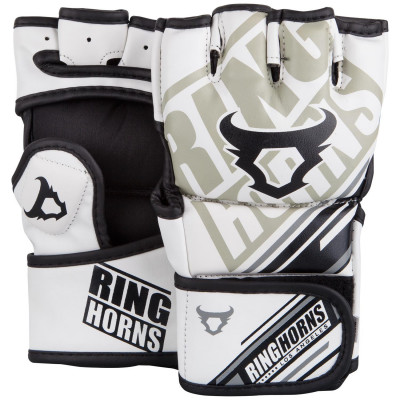 Перчатки Ringhorns Nitro MMA Gloves White (01694)