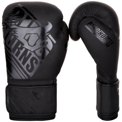 Перчатки Ringhorns Nitro Boxing Gloves Black/Black (01690)