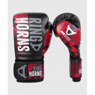 Перчатки Ringhorns Charger Camo Boxing Gloves B/R (02136) фото 1