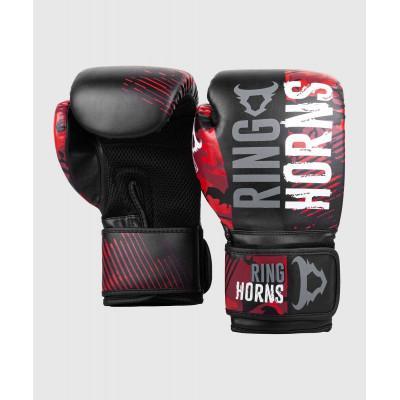 Перчатки Ringhorns Charger Camo Boxing Gloves B/R (02136) фото 2