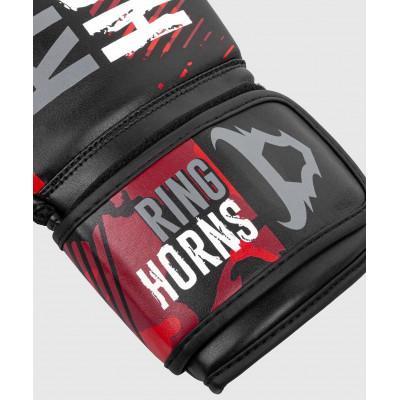 Перчатки Ringhorns Charger Camo Boxing Gloves B/R (02136) фото 3
