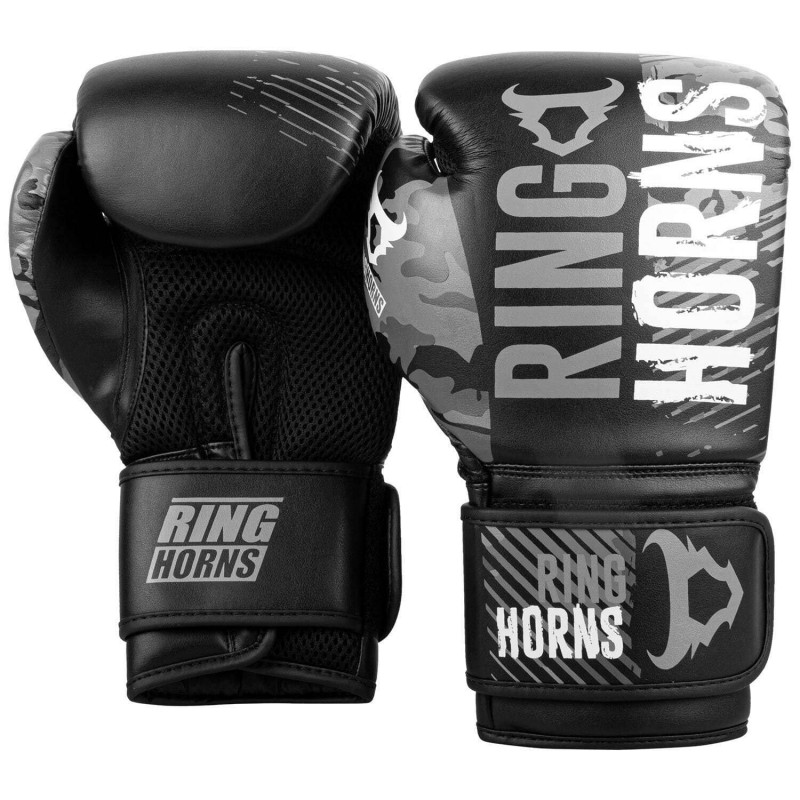 Перчатки Ringhorns Charger Camo Boxing Gloves B/G (02019) фото 2