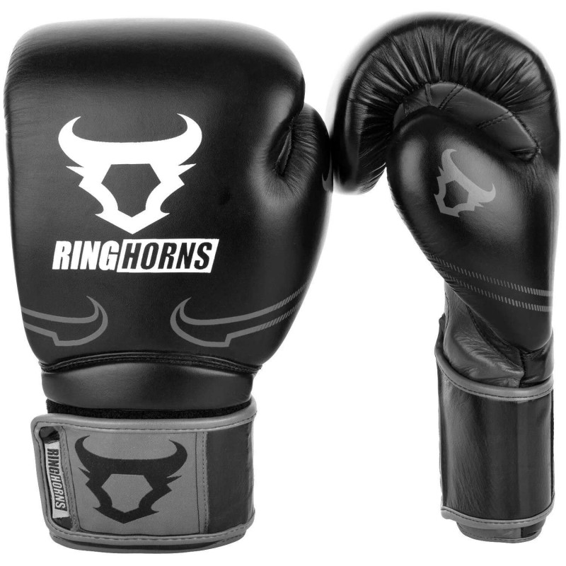 Перчатки Ringhorns Destroyer Boxing Gloves B/Grey (02020) фото 1