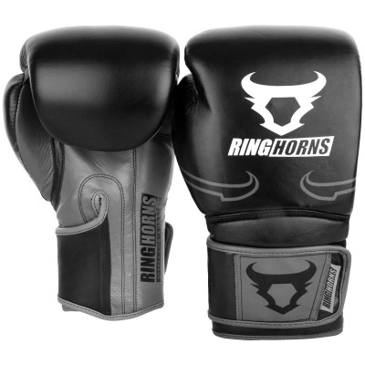 Перчатки Ringhorns Destroyer Boxing Gloves B/Grey (02020) фото 2