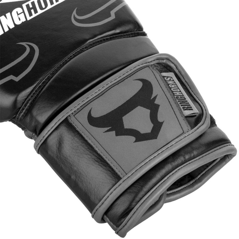 Перчатки Ringhorns Destroyer Boxing Gloves B/Grey (02020) фото 3