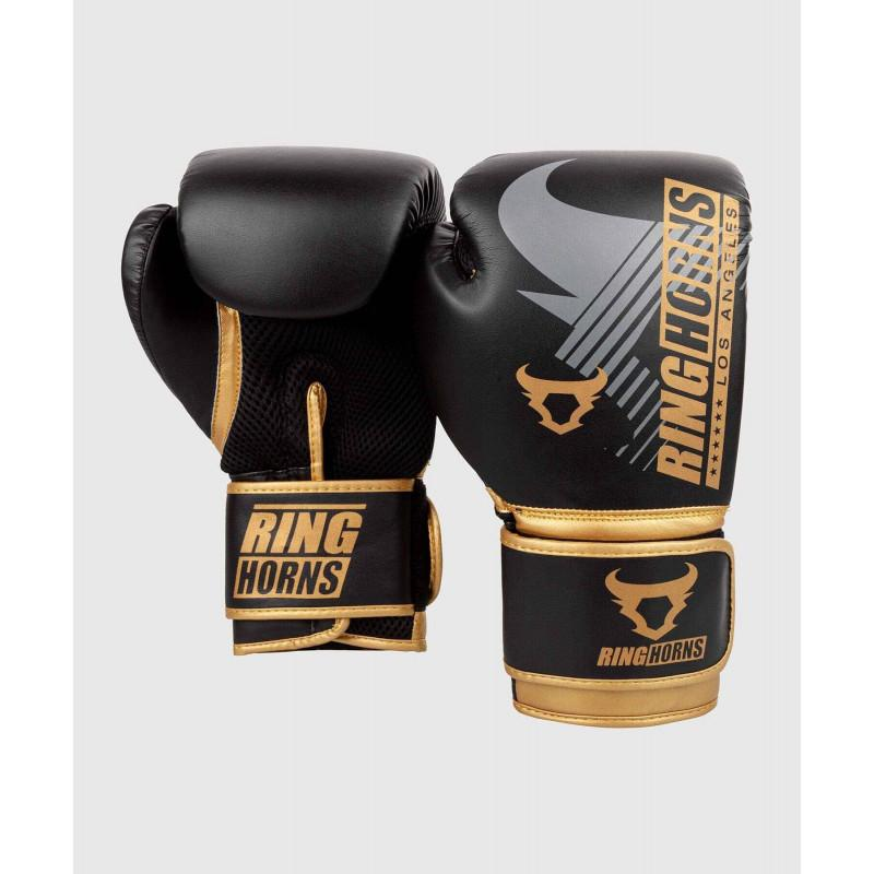 Рукавиці Ringhorns Charger MX Boxing Black/Gold (02170) фото 2