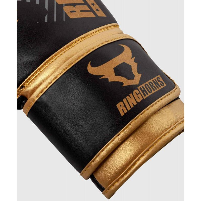 Рукавиці Ringhorns Charger MX Boxing Black/Gold (02170) фото 3